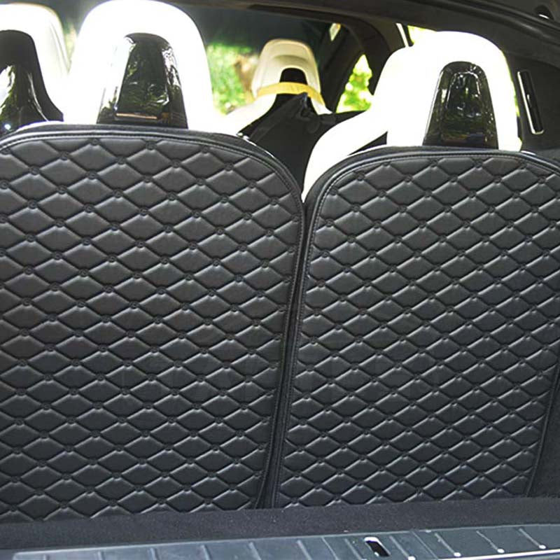 3rd Row Seat Back Protector for Tesla Model X 6 and 7 Seat (set of 2) - TAPTES