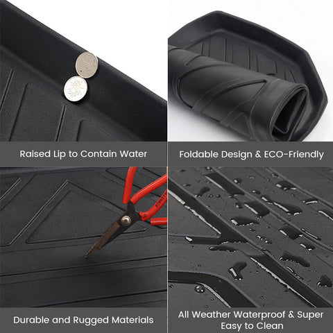 Trunk Mat for Tesla Model Y, All Weather Cargo Liner