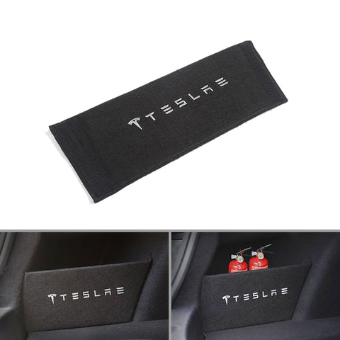 Trunk Side Pocket Partition Pad for Tesla Model 3