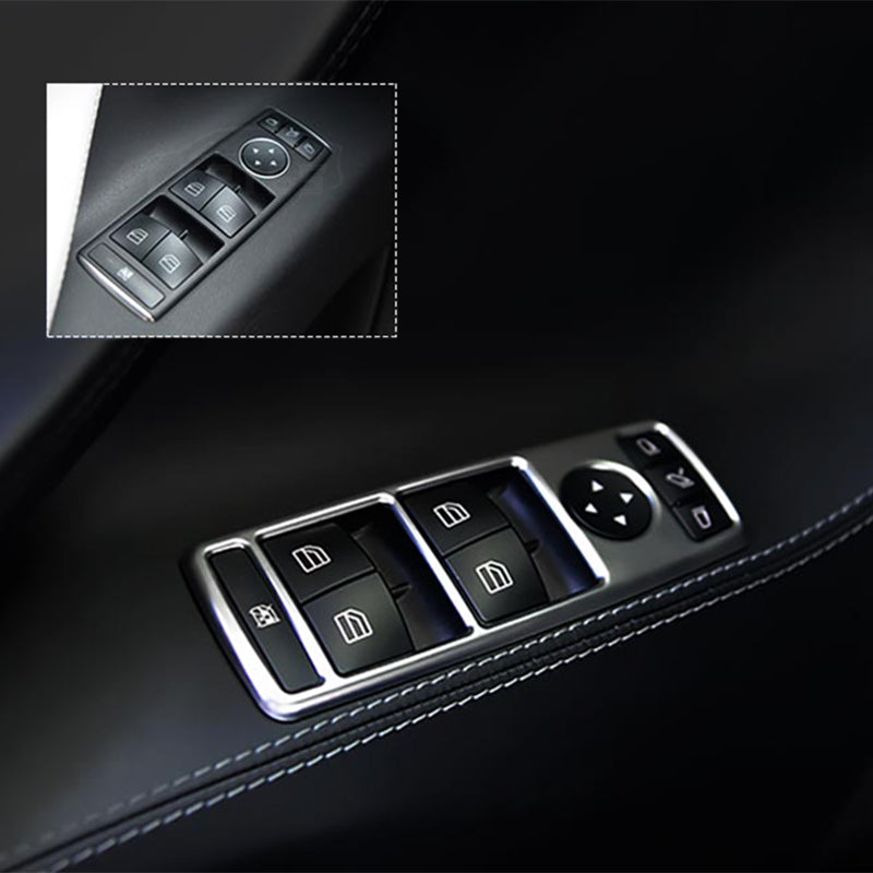 Window Switch Buttons Decorative Frame for Model S - TAPTES