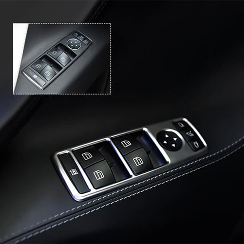 Window Switch Buttons Decorative Frame for Model X - TAPTES