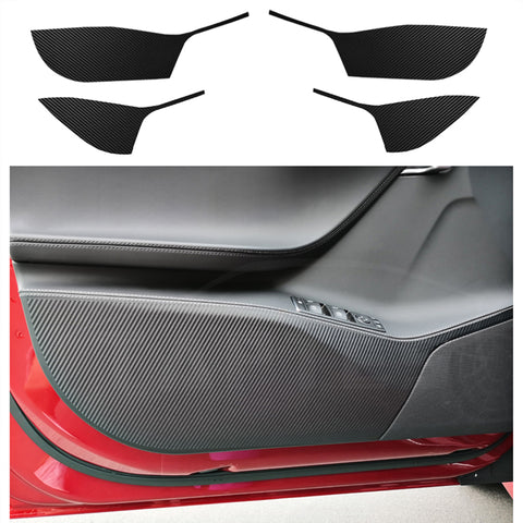 Carbon Fiber Interior Decoration Refit Car Affix Decorative Film for Model S - TAPTES