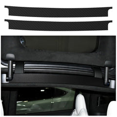 Carbon Fiber Interior Decoration Refit Car Affix Decorative Film for Model X - TAPTES