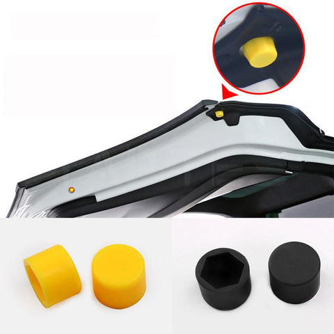Car Rear Door Lock Anti-Scratch Caps for Model X - TAPTES