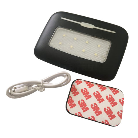 Handrail Storage Box Touch Sensor LED Light for Model S - TAPTES