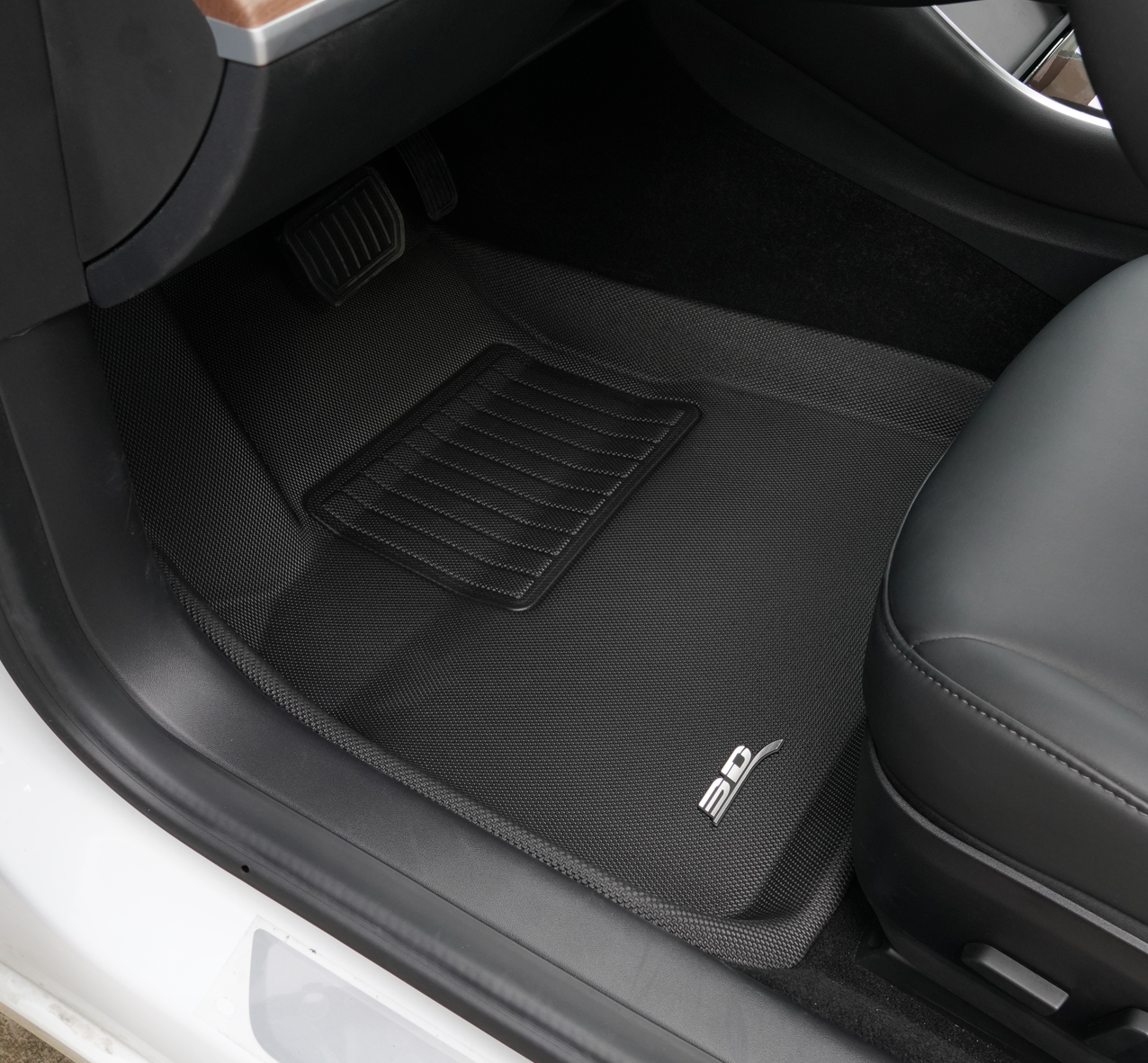 MAXpider Custom Fit All-Weather Floor Liners for Tesla Model 3