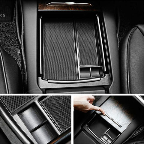 Center Console Storage Organizer Shelf for Tesla Model X - TAPTES