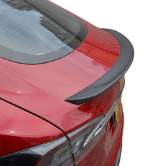 Carbon Fiber Rear Trunk Spoiler for Model S - TAPTES