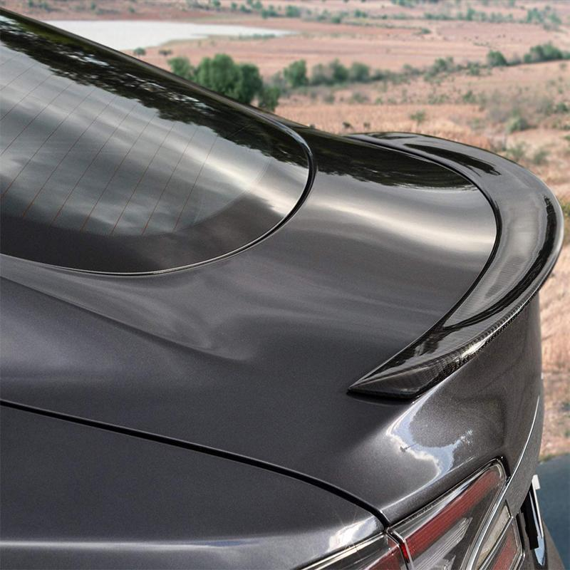 Carbon Fiber Rear Trunk Spoiler for Model S