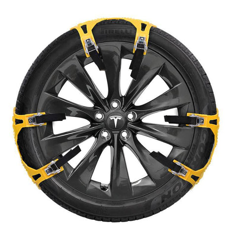 Snow Tire Chain for Model S (Set for 2 Wheels)