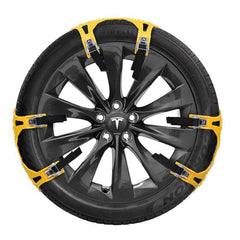 Snow Tire Chain for Model S (Set for 2 Wheels) - TAPTES