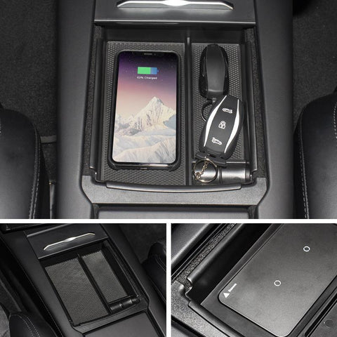 Wireless Phone Charger for Tesla Model S