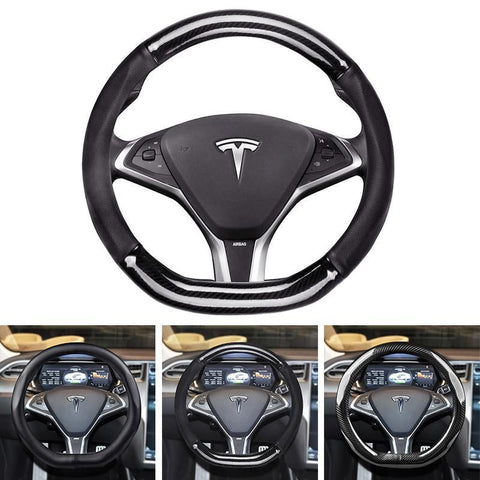 Steering Wheel Cover for Tesla Model S
