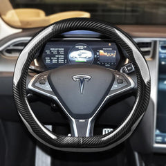 Steering Wheel Cover for Tesla Model S - TAPTES
