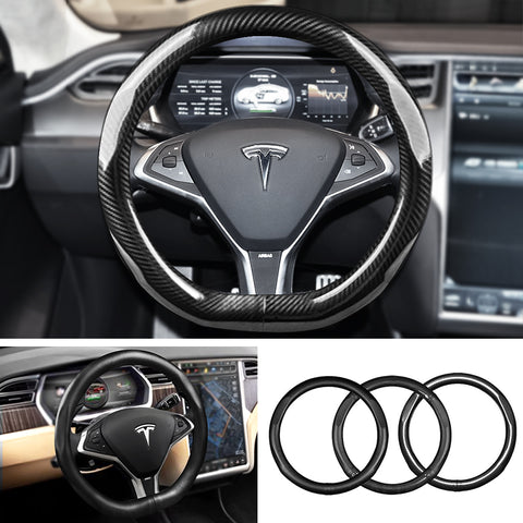 Steering Wheel Cover for Tesla Model X - TAPTES