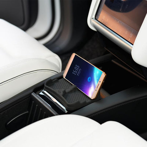 Multi-Function Mobile Phone holder for Model S - TAPTES