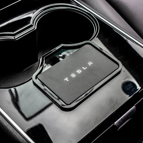 Center Console Key Holder for Tesla Model 3 - TAPTES
