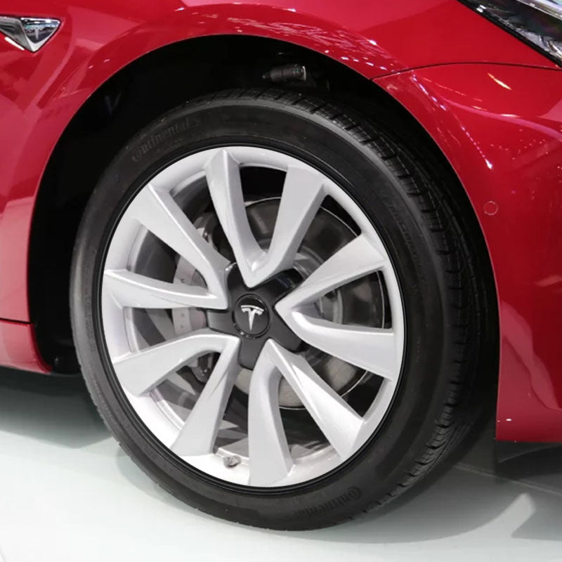 Wheel Bands for Tesla Model 3 for All Four Wheels Ship from California - TAPTES