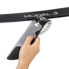 Carbon Fiber Door Sill Protection for Tesla Model 3 - 2pcs