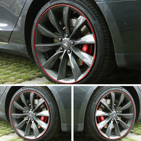 Wheel Bands Kit for Tesla Model X