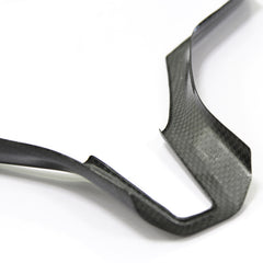 Glossy Carbon Fiber Steering Wheel Cover Trim for Model S - TAPTES