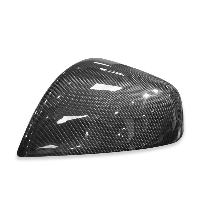 Carbon Fiber Side Mirror Covers Cap for Model X (set of 2) - TAPTES