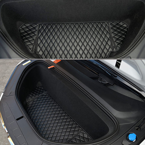 Front Trunk Mats for Tesla Model X - TAPTES