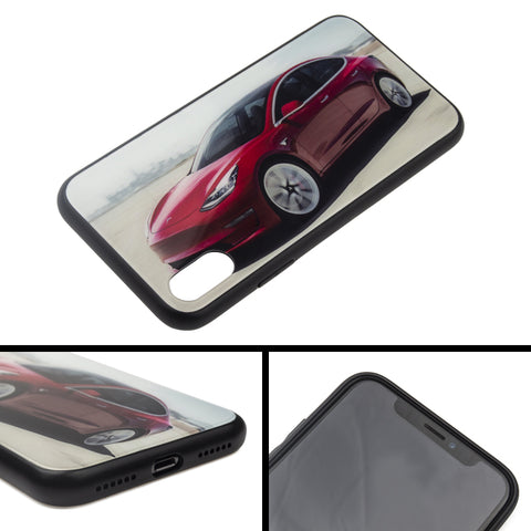 Custom Made Phone Cases for Tesla Model 3 Owners