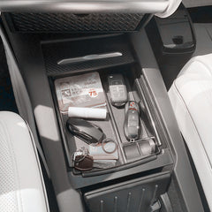 Storage Box with Wireless Charger for Model S - TAPTES