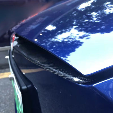 Carbon Fiber Front Center Grille for Model S - TAPTES