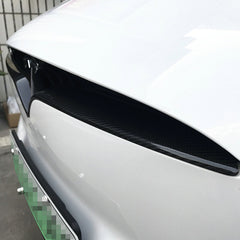 Carbon Fiber Front Center Grille for Model X - TAPTES