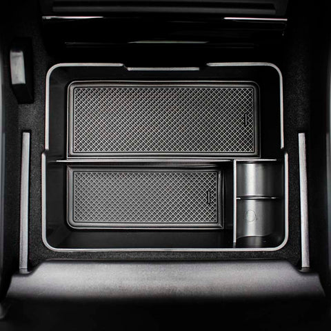 Multi-Function Organizer Box for Tesla Model 3 Center Console - TAPTES
