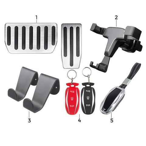 Must Have Model S Accessories for New Model S Owners - Basic Bundle - TAPTES