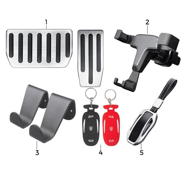 Must Have Model X Accessories for New Model X Owners - Basic Bundle - TAPTES