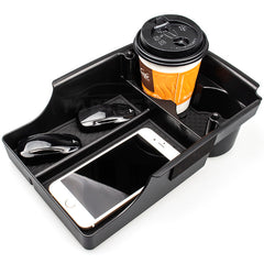 Center Console Organizer Storage Box with Cup Holder for Model X