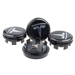 Wheel Center Caps with Lights for Tesla Model X, 4PCS - TAPTES