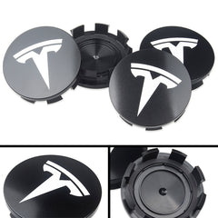 Wheel Center Caps Insert / Rims Hub Caps for Tesla Model S (Set of 4) - TAPTES