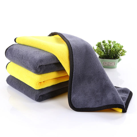 Soft Microfiber Cleaning Car Drying Towel / Cloth for Tesla Model S, Model X and Model 3