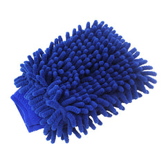 Premium Chenille Car Wash Glove soft Microfiber Coral Velvet for Model 3, Model X, Model S - TAPTES