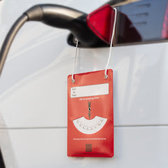 Charging Notice Hang Tag for Tesla Model S X 3 - TAPTES