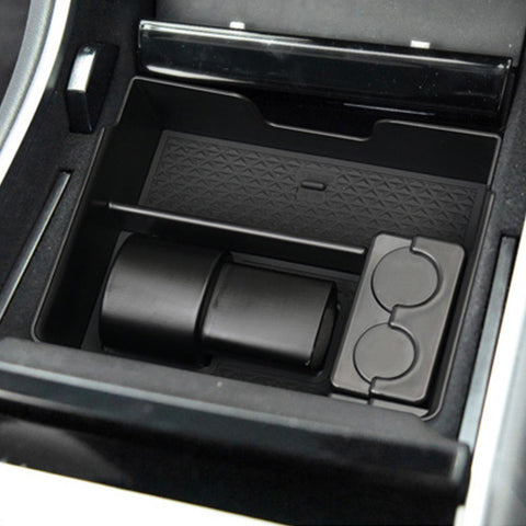 Upgraded Center Console Tray for Tesla Model 3, Collects Charger Adapter - TAPTES