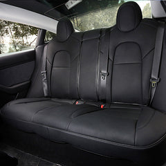 Leather Seat Covers for Tesla Model 3 Rear Seats - TAPTES