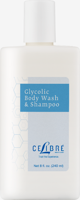 Glycolic Body Wash And Shampoo