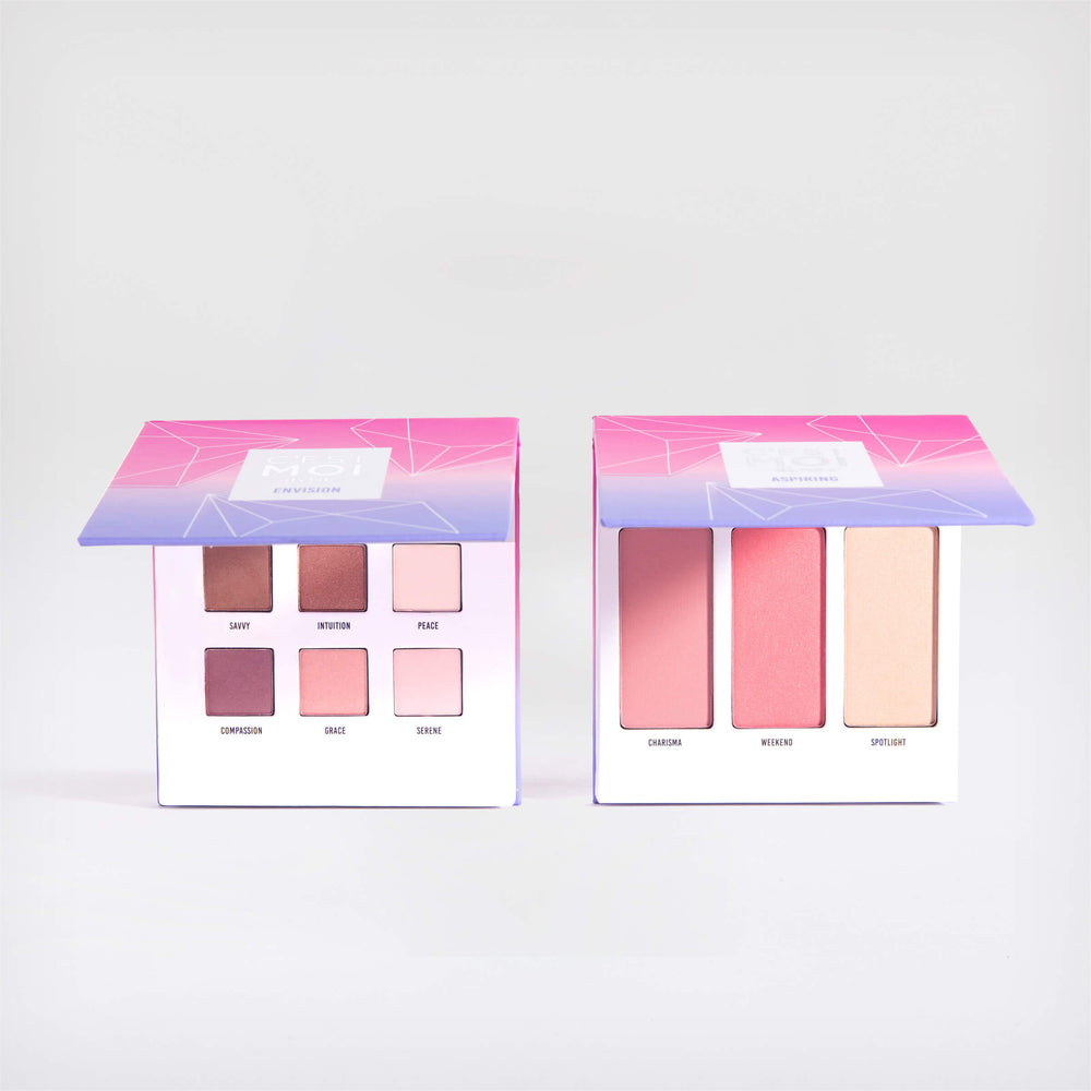Double The Fun Eye & Cheek Palettes