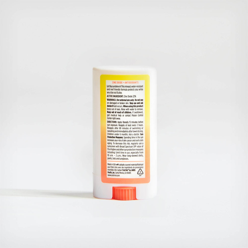 Load image into Gallery viewer, Sunshine Mineral Sunscreen Face Stick Broad Spectrum SPF50