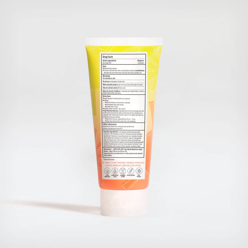 Sunshine Mineral Sunscreen Face and Body Lotion Broad Spectrum SPF 45
