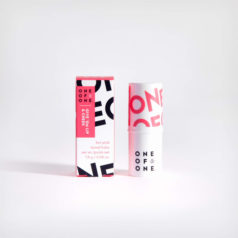 Give 'Em Lip (& Cheek) Tinted Balm - Hot Pink