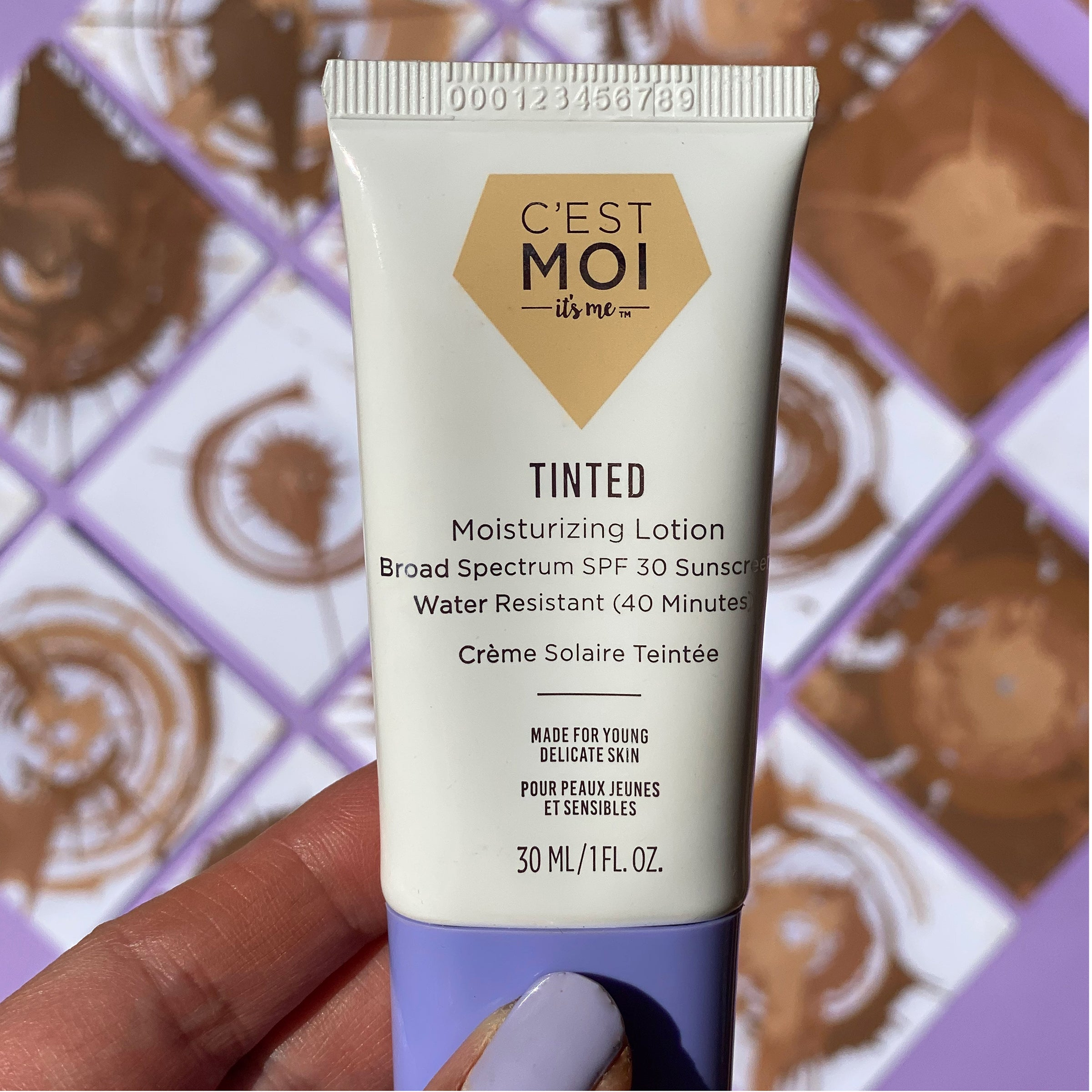 Tinted Moisturizing Lotion Broad Spectrum SPF 30 Sunscreen
