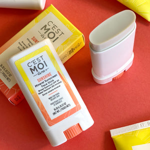 Sunshine Mineral Sunscreen Face Stick Broad Spectrum SPF50