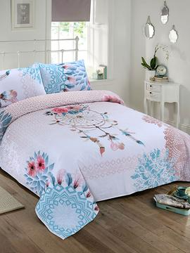 DOUBLE BED SHEET- FEATHER